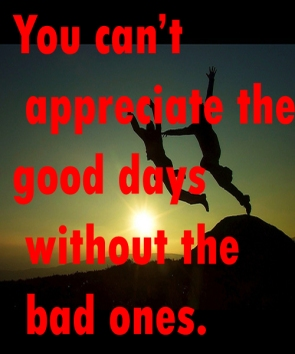 You-can't-appreciate-the-good-days-without-the-bad-ones